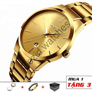 Đồng hồ nam SKMEI classic SM11 thời trang cao cấp chống nước siêu bền -Gozid.watches