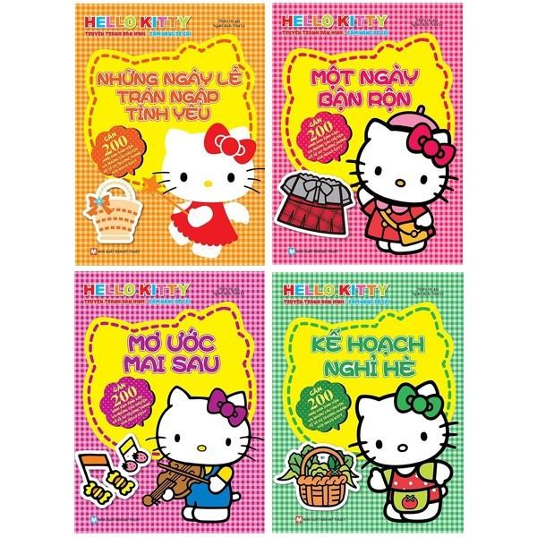 Sách - Hello Kitty - Kế Hoạch Nghỉ Hè (dán hình)