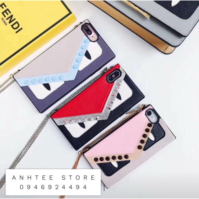 Fendi New Case iPhone 6--8Plus; X