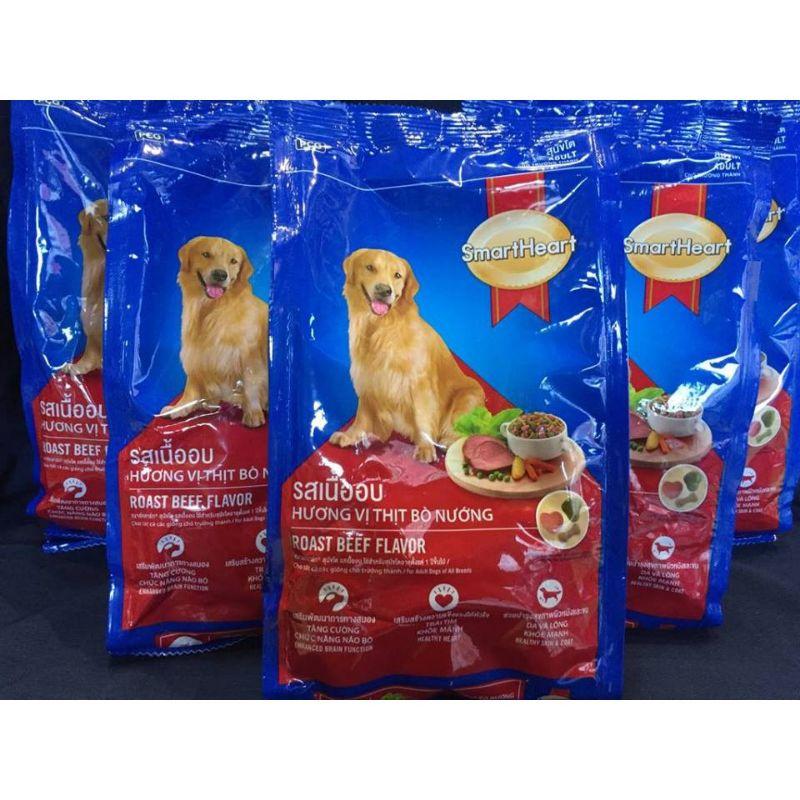 Combo 5 gói thức ăn cho chó trên 1 năm tuổi SmartHeart Adult (400g/gói)   Shopee Việt Nam