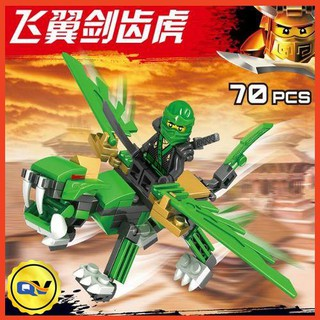 Bộ lego chiến binh rồng (A8036)