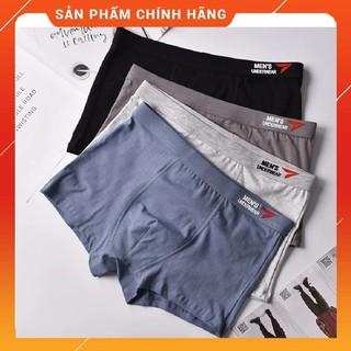 Yêu ThíchHộp 4 quần sịp đùi cao cấp - Quần lót nam cotton 100%