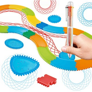 ҉Multi-function Creative Magical Painting Wanhua Ruler Toy Set