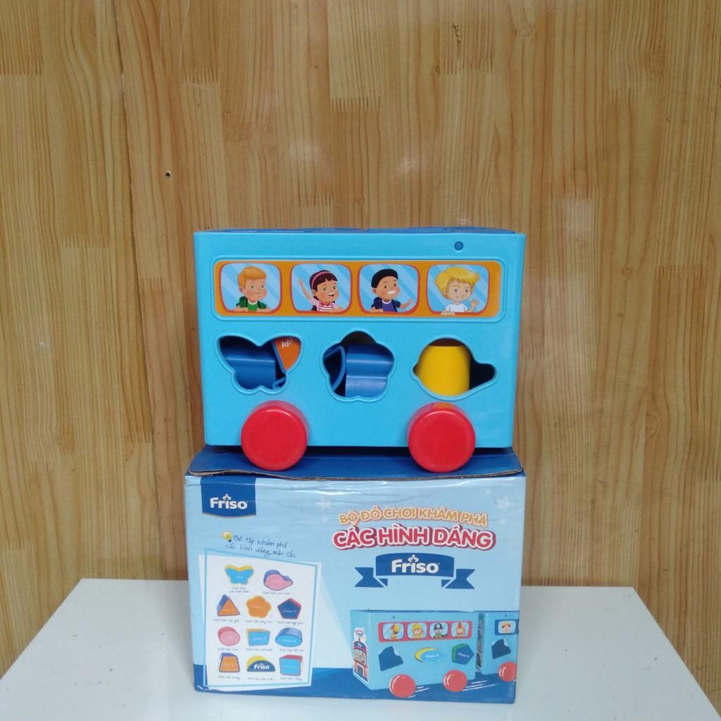 Bộ đồ chơi khám phá các hình dáng Friso