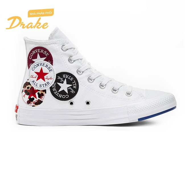 Giày sneakers Converse Chuck Taylor All Star Twisted Classic Logo Play 166735C