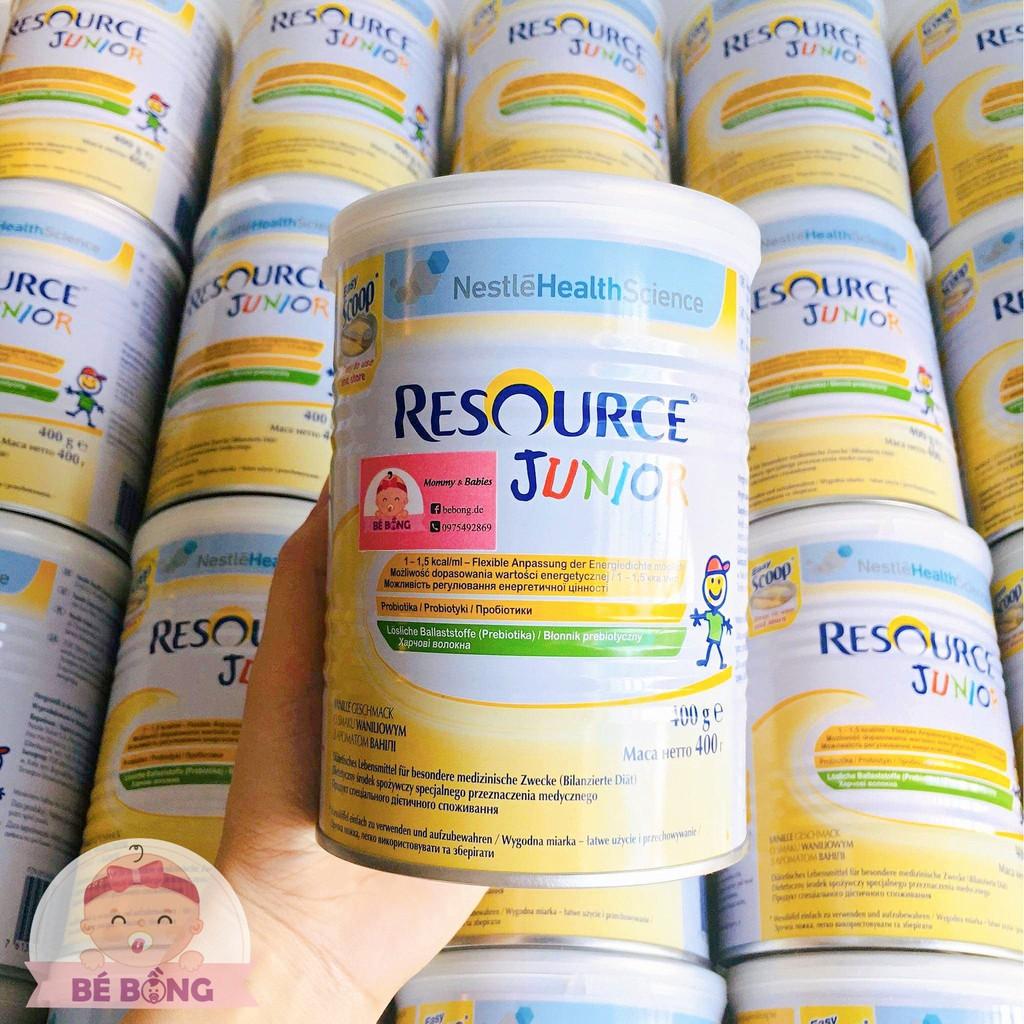 Sữa béo Resource Junior 400g
