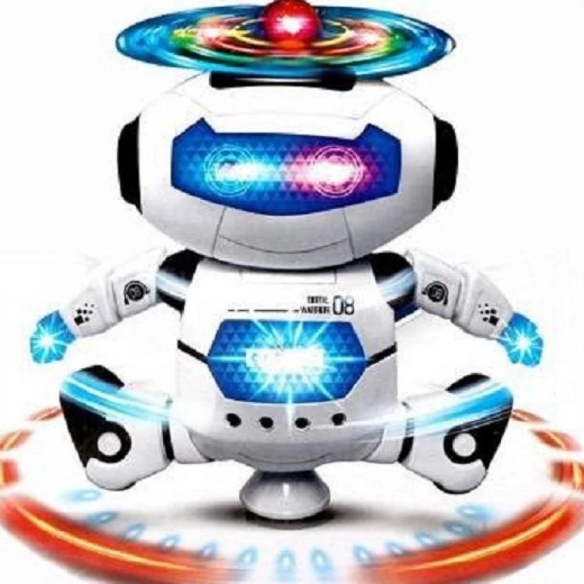 Robot xoay 360 cho bé yêu