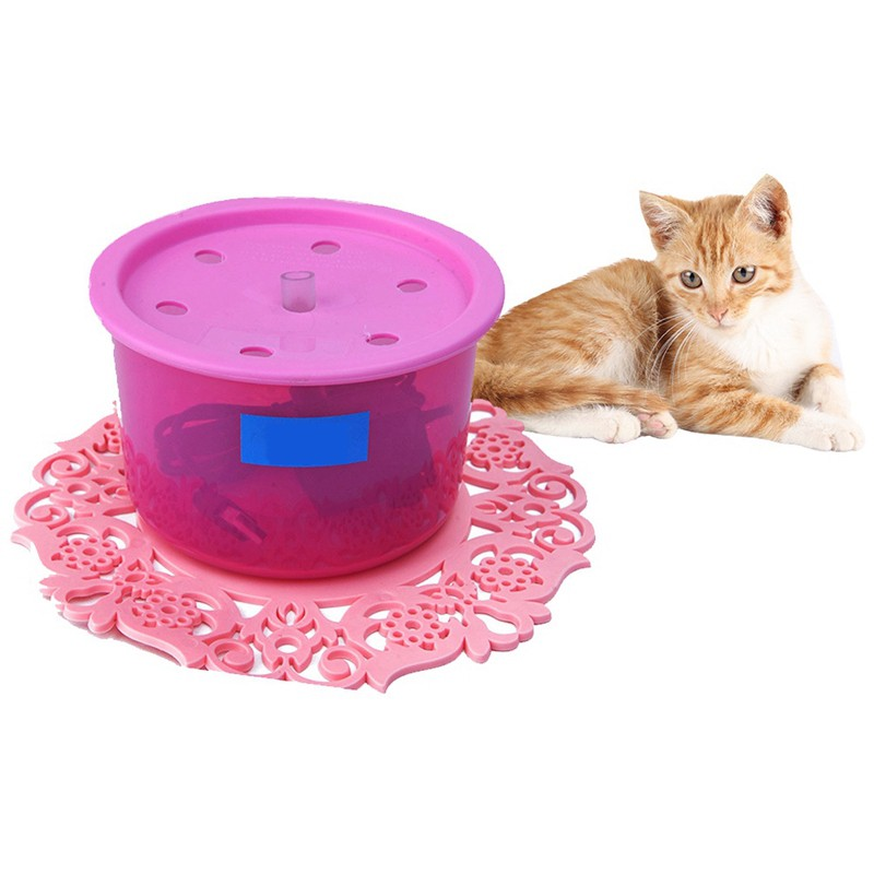 USB LED Automatic Electric Pet Water Fountain Cat/Dog Drinking Dispenser Useful
