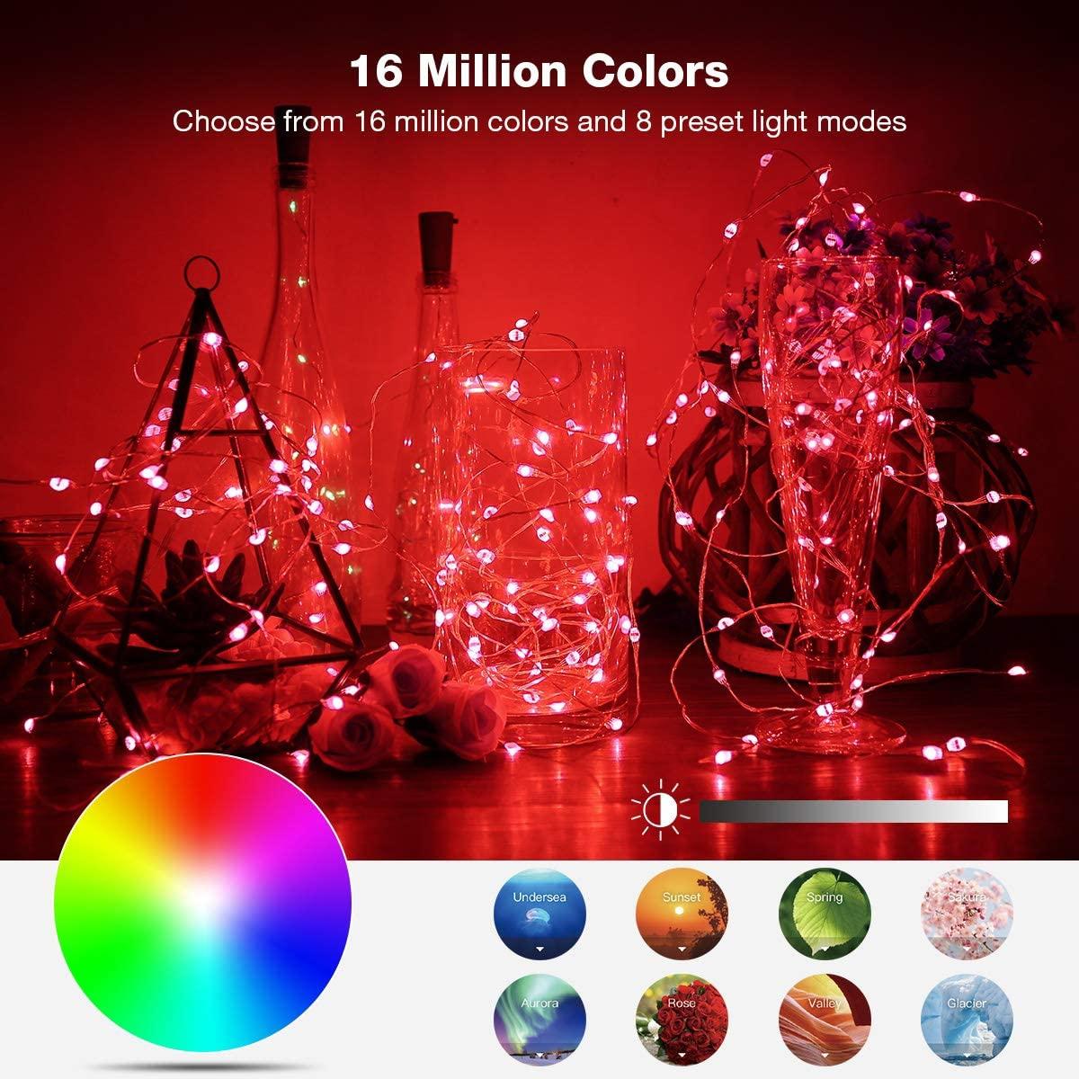 Dây Đèn Led Nhiều Màu Sắc Trang Trí Giáng Sinh
