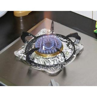 bộ 10 miếng giấy bạc lót bếp ga tiện dụng thumbnail