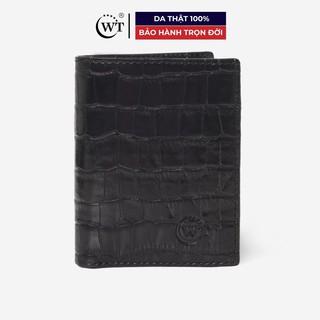 Ví Da Nam Da Bò Cao Cấp Màu Đen, Màu Nâu, Màu Xanh Navy WT Leather 010120001, 010120002, 010120007 thumbnail