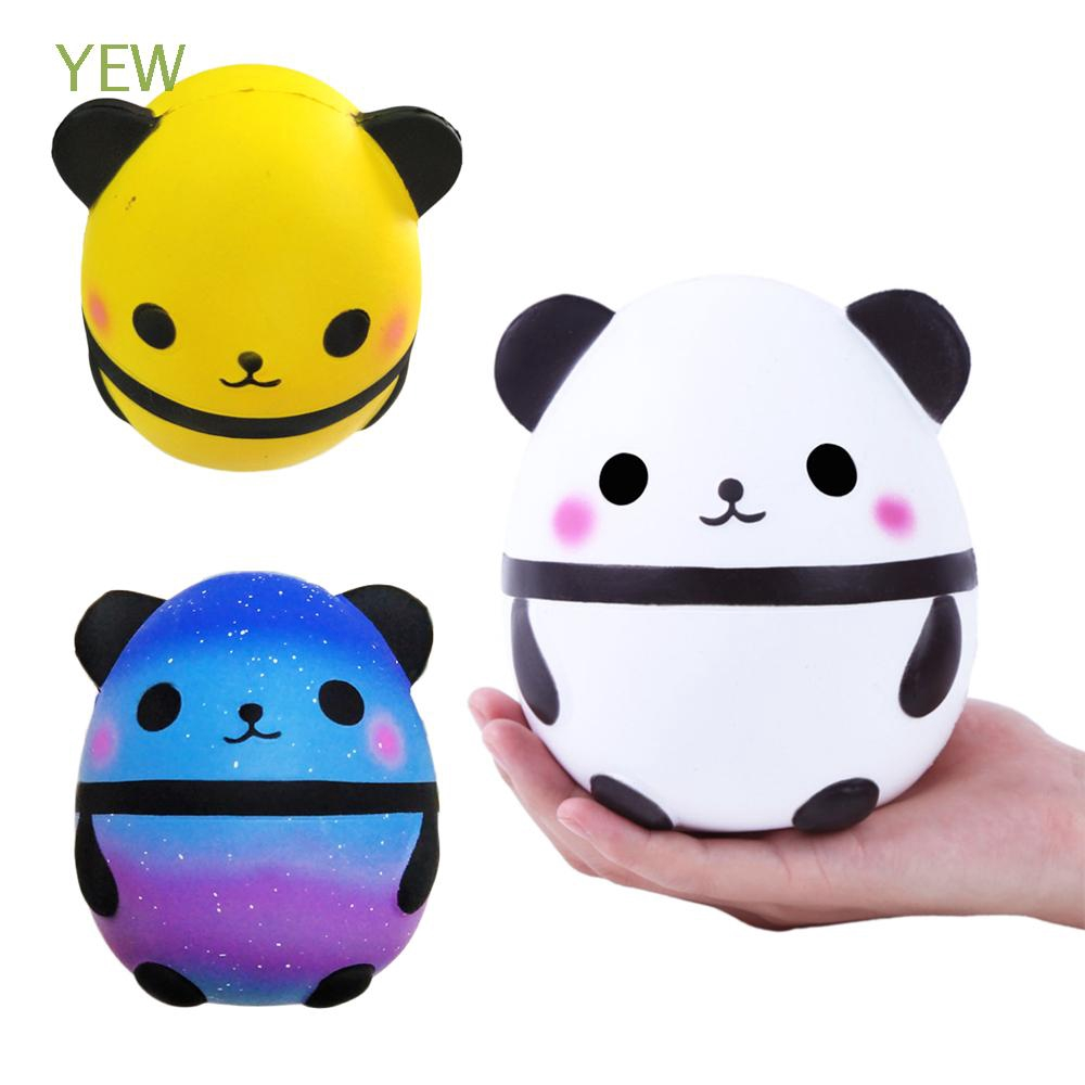 Charm Soft PU Kids Gifts Simulation Decompression Jumbo Panda Toy