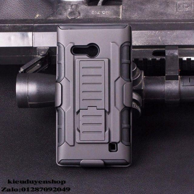 Lumia 730 ốp lưng chống sốc đeo thắt lưng