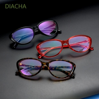 DIACHA Women and Men Blue Light Blocking Glasses Vintage Frame Eyewear Computer Gaming Glasses Vision Care Fashion Anti Eyestrain UV400 Protection Goggles
