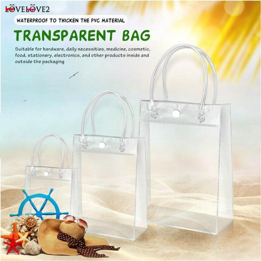 Túi đựng đồ trong suốt chất liệu thân thiện môi trường