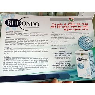 Dầu gội đầu và dầu tắm trị gầu và nấm Rudondo