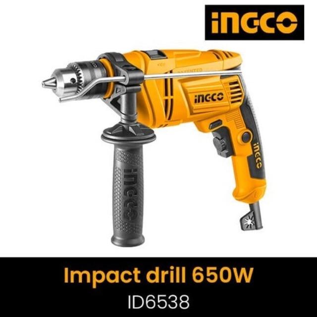 Máy khoan búa Ingco ID6538E - 650W, 13mm