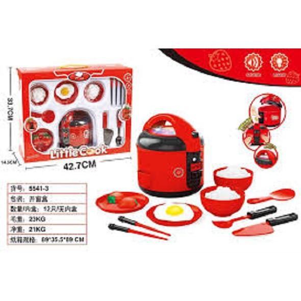 Đồ chơi nấu ăn, đồ chơi nhà bếp dùng pin có đèn nhạc (kèm pin)