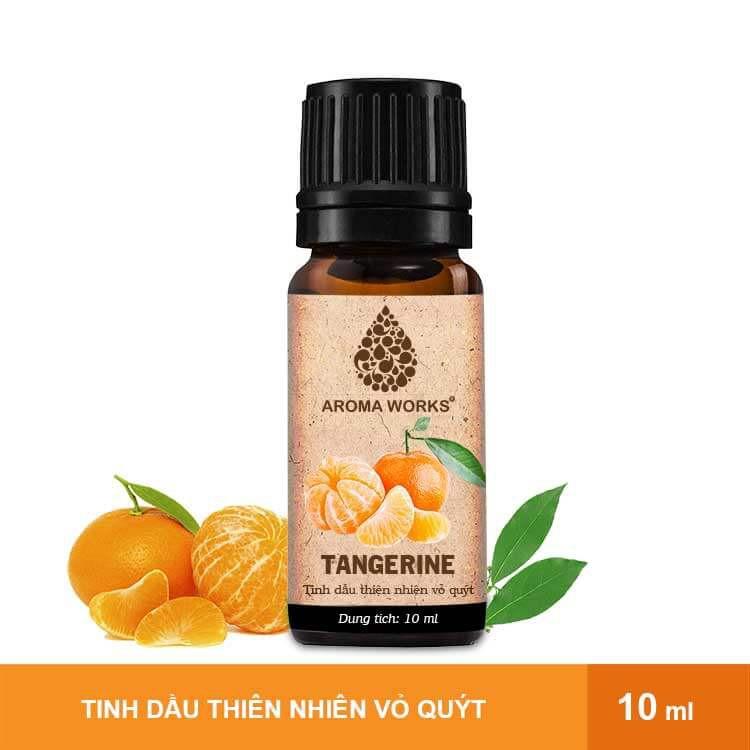 Tinh Dầu Thiên Nhiên Vỏ Quýt Aroma Works Essential Oils Tangerine