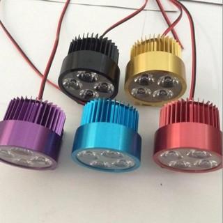 Đèn pha trợ sáng 4 LED dành cho xe mô tô, xe điện (màu trắng) 206360 [SKM] thumbnail