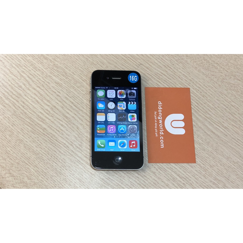 Điện thoại iPhone 4 quốc tế chính hãng Apple 8G 570k