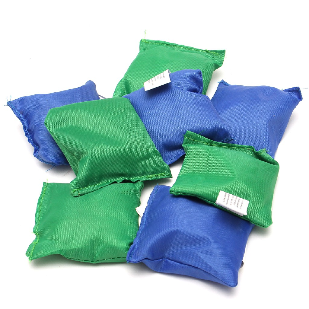Foldable Wooden Bean Bag Toss Cornhole Set Boards Tailgate Family
