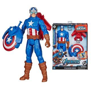 [Mã 1212TINI03 giảm 25% đơn 200k] Đồ chơi Avengers siêu anh hùng Titan và khiên chiến Captain American E7374 thumbnail