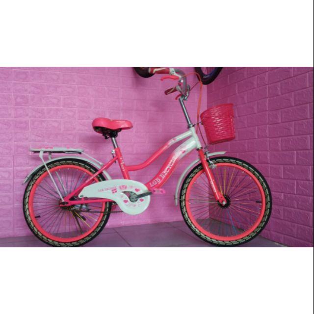 Xe đạp bé gái size 20inch ( còn tím)