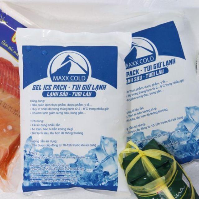 Đá gel đá khô bảo quản thực phẩm 500g