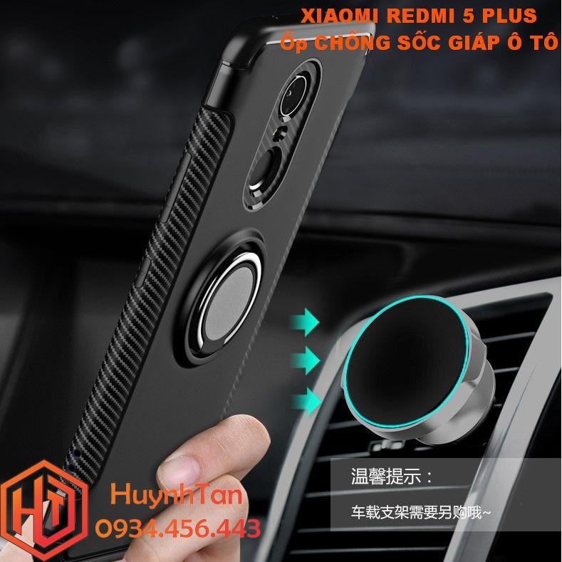Ốp lưng Xiaomi Redmi 5 Plus _ Ốp chống sốc giáp ô tô