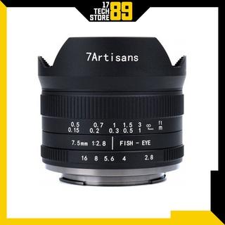 Ống kính 7artisans 7.5mm F 2.8 Fisheye Mark II (Manual Focus) thumbnail