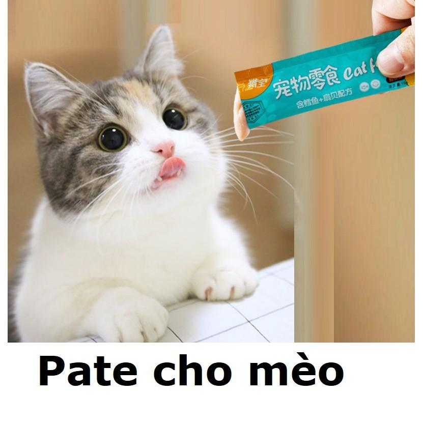 (Lẻ 1) Hanpetgel - Pate Thanh dạng Gel dinh dưỡng cho mèo chó thức ăn dạng ướt cho mèo đồ ăn vặt mèo snack súp thưởng m|Vị cá ngừ (da trời)