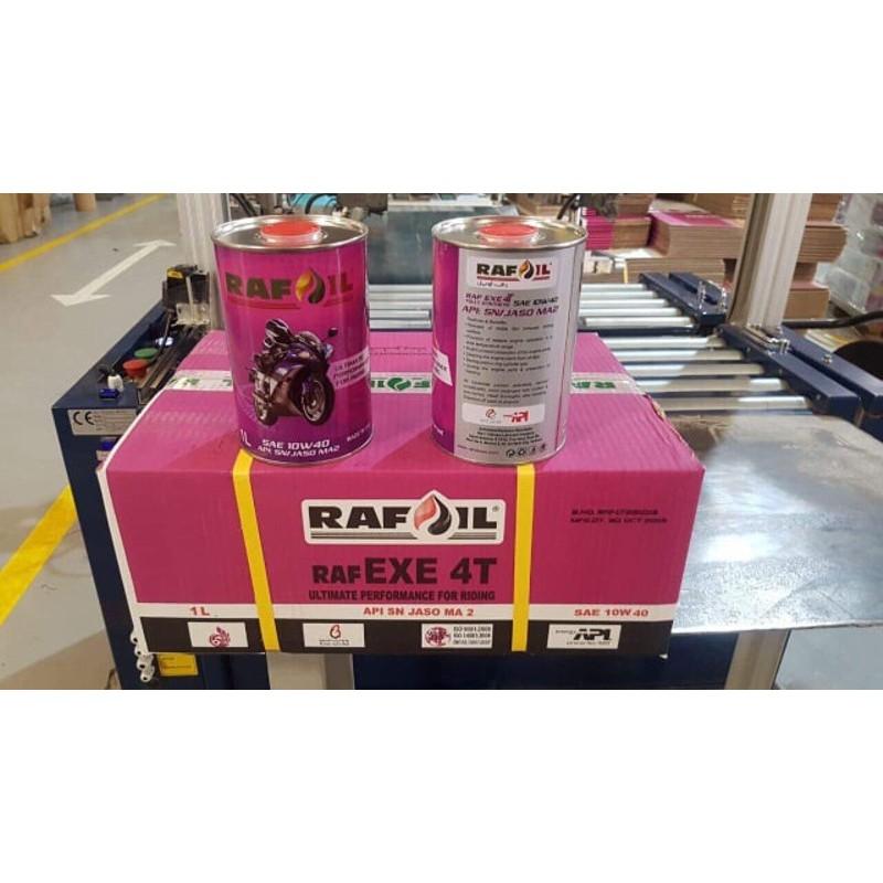 Nhớt Tổng Hợp 100% Rafoil 10w40 100ml Dùng Cho Xe Tay Ga, Xe Số - Rafoil Fully-Synthetic – Made In UAE - Nhớt Rafoil