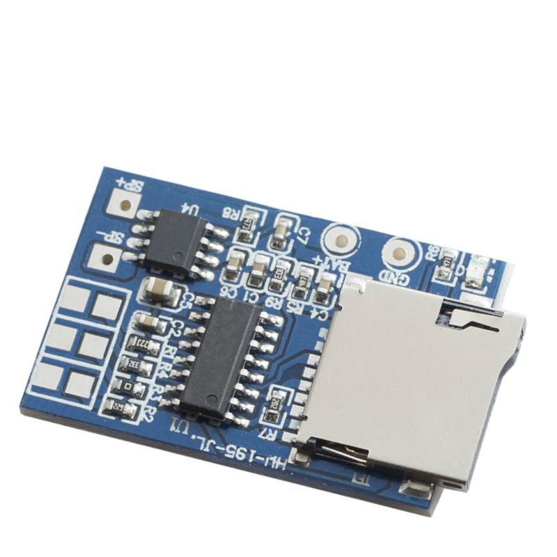 Mô-đun khuếch đại giải mã bảng mạch MP3 thẻ TF 2W GPD2846A chất lượng cao