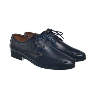 Giày công sở nam buộc dây lịch lãm - màu đen MS14 giày tây , Shop - CMS