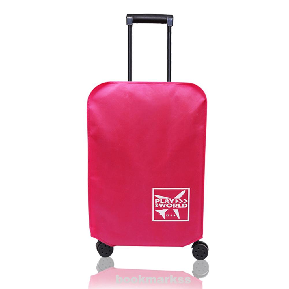 Luggage Cover Waterproof Protective Suitcase Accessories Anti-scratch Dust-Proof Thickened Non-woven Fabric