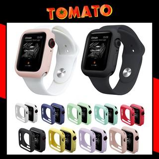 Ốp Silicon Apple Watch - Case Bảo Vệ cho Apple Watch - Đủ 38mm, 40mm, 42mm, 44mm Silicone iWatch Series 4 3 2 1 thumbnail