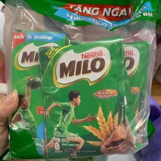 10 gói milo 22g tặng kèm 1 hộp milo ít đường