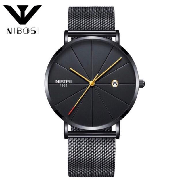 (GIÁ SỈ) Đồng hồ nam NIBOSI 4578 TẶNG VÒNG TAY Chống xướt chống nước tuyệt đối NIBOSI 1985