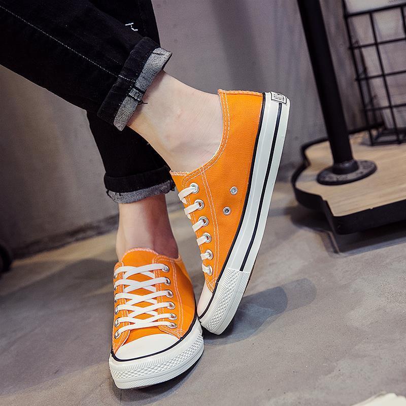 Giày Thể Thao Vải Bạt Thời Trang Hàn Cho Nam Nữ