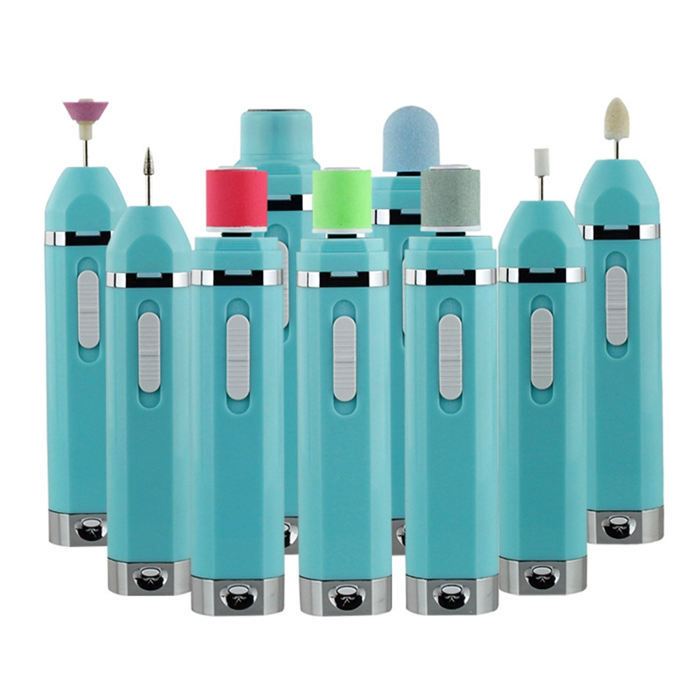 Multifunctional Eco-friendly Portable Professional Pedicure Manicure Home Electric Nail Polisher Set