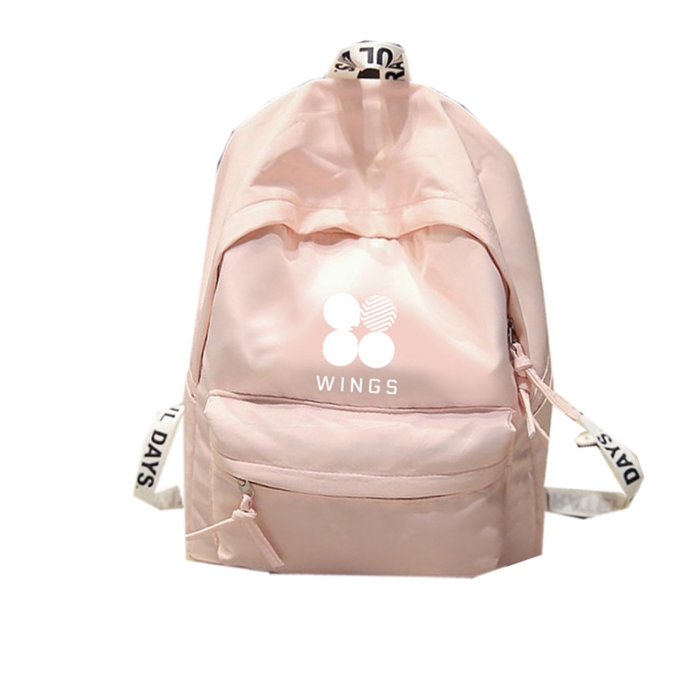 Túi BTS nên được quấn quanh phiên bản Hàn Quốc của cùng một túi vải ba màu cho ba lô nam và nữ