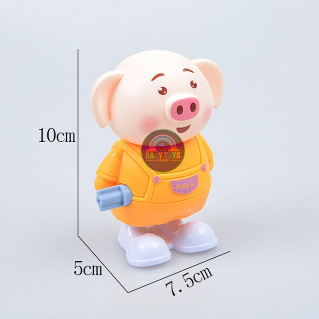 Heo Pig Vặn Cót Vui Chơi Cùng Bé Ăn Bột (Hàng Chất Lượng Cao)