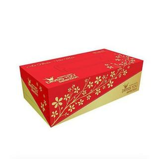 Giấy hộp rút Bless You Selection 2 Lớp Phiên Bản Hạc Vàng (100 Tờ/ Hộp)