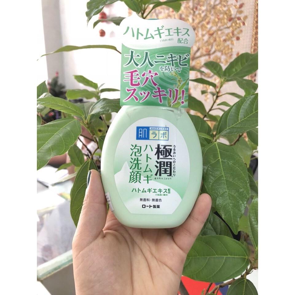 Sữa rửa mặt tạo bọt HadaLabo Nhật Bản Gokujyun Foaming Cleanser - 9982771 , 1244226125 , 322_1244226125 , 155000 , Sua-rua-mat-tao-bot-HadaLabo-Nhat-Ban-Gokujyun-Foaming-Cleanser-322_1244226125 , shopee.vn , Sữa rửa mặt tạo bọt HadaLabo Nhật Bản Gokujyun Foaming Cleanser