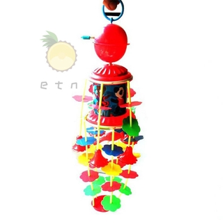 Fashion Wind Chimes Rotating Music Kids Toys Plastic Children Crib Bell Bed Hang Decoration 3-6 Years Infant Baby Gift