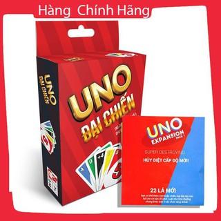 [Hỗ trợ giá] Combo Uno đại chiến và 02 bản mở rộng (bán sỉ)