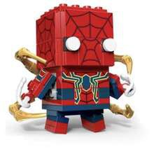 Brickheadz avengers Spider man cute doll decool