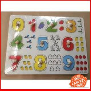 Bảng 10 số tập đếm cho bé 020 có núm – CHẤT LƯỢNG CAO