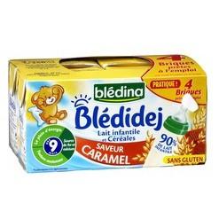 Sữa nước Bledina vị caramel cho bé 9M